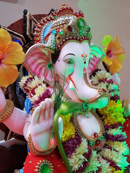 12th-day Ganpati immersion  in Pune