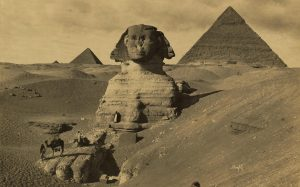 The man made sphinx