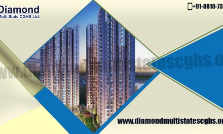 Obtain beautiful residential units at Diamond Multi State CGHS