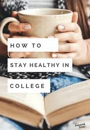 top 10 simple tips to stay healthy in College